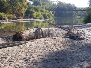 Wreck of the PS Wagga Wagga