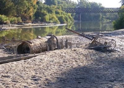Wreck of PS Wagga Wagga