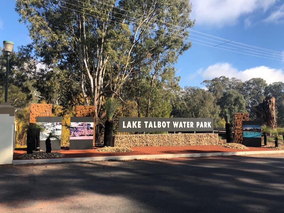 Lake Talbot Swimming Pool Entry