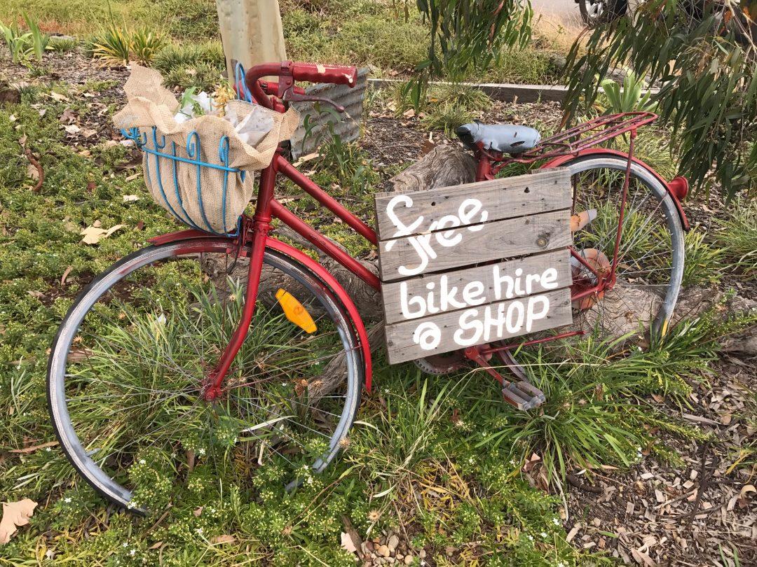 Grong Grong Borrow Bikes