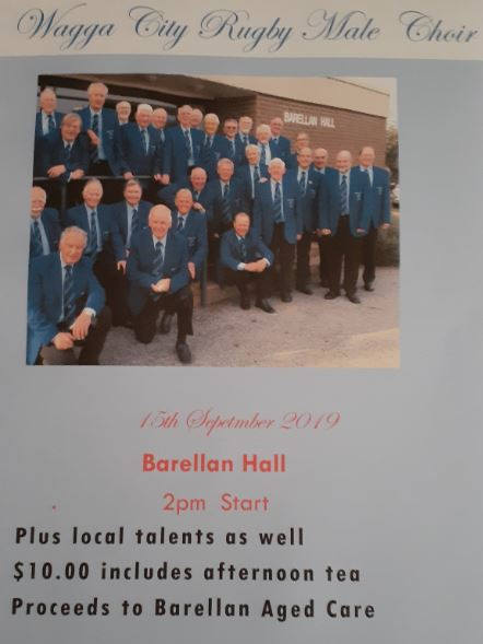 Wagga City Rugby Male Choir