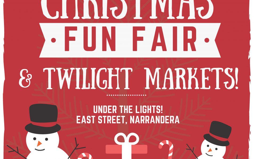Narrandera Christmas Fun Fair Markets Narrandera Tourism